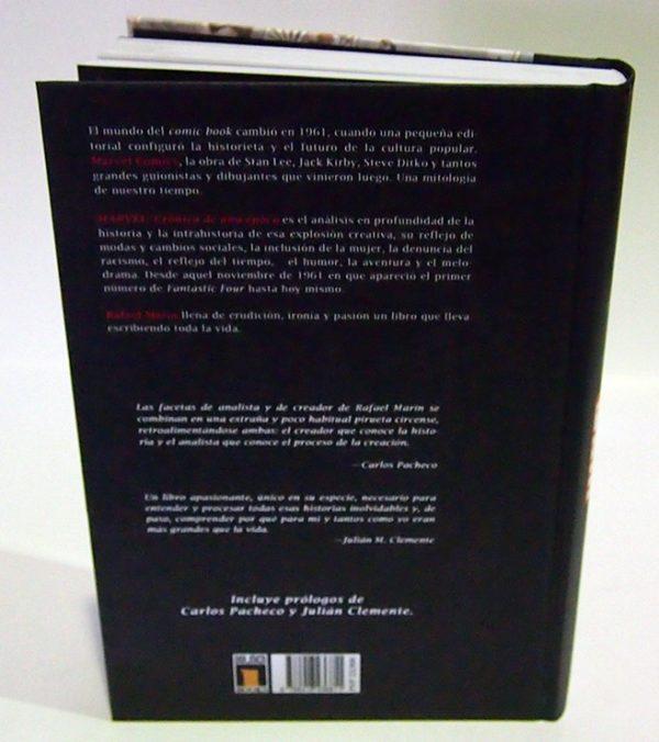 MARVEL, CRÓNICA DE UNA ÉPOCA. LIBRO