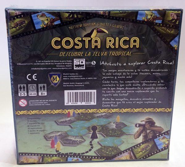 COSTA RICA, JUEGO DE TABLERO