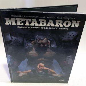 METABARON 01. WILHELM-100, EL TECNOALMIRANTE, COMIC EUROPEO
