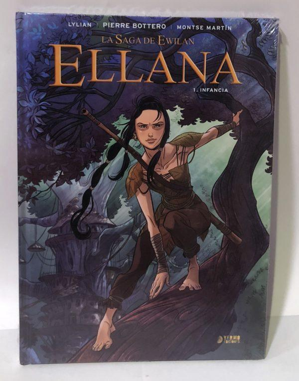 ELLANA 01. INFANCIA, COMIC EUROPEO