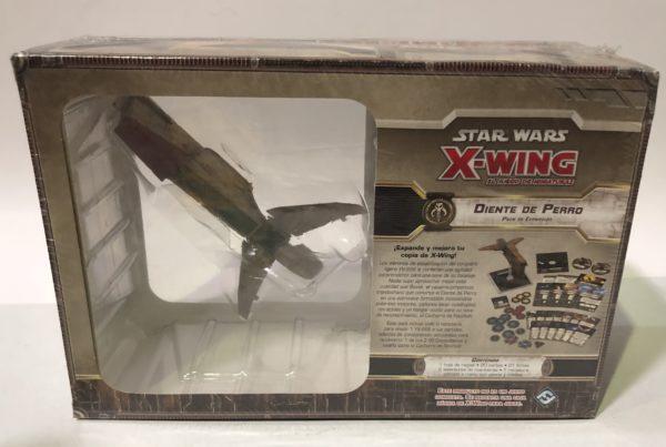 X-WING: DIENTE DE PERRO, JUEGO DE MINIATURAS STAR WARS, JUEGO DE TABLERO