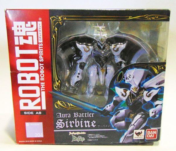 SIRBINE, AURA BATTLER DUNBINE, ROBOT SPIRITS , FIGURA 14,5 CM
