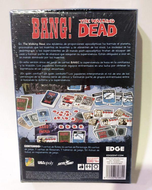 BANG! THE WALKING DEAD - JCNC JUEGO DE CARTAS NO COLECCIONABLE