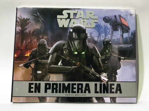 STAR WARS EN PRIMERA LINEA LIBRO ILUSTRADO, ENSAYO