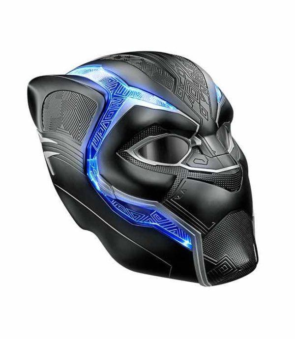 BLACK PANTHER CASCO ELECTRONICO, REPLICA MARVEL LEGENDS REPLICA 1:1 accesorio