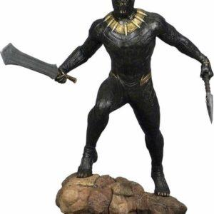 KILLMONGER, DIORAMA MARVEL GALLERY BLACK PANTHER MOVIE FIGURA ESTATUA 23 CM PVC