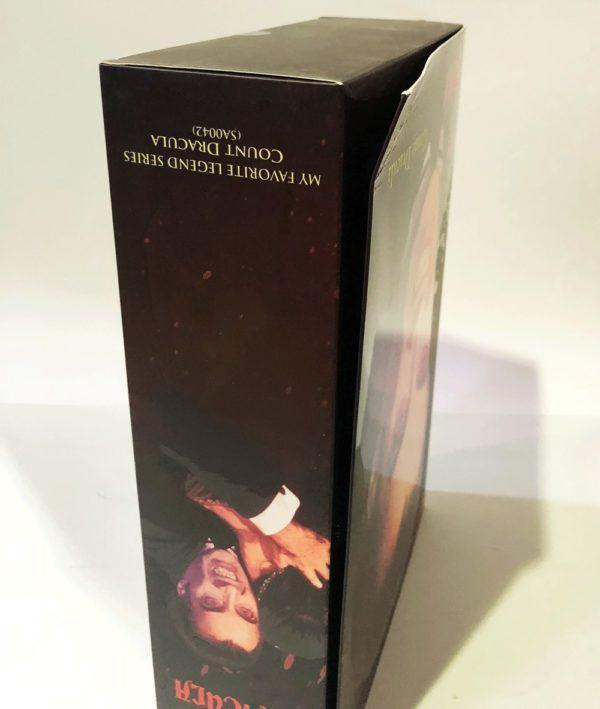"CONDE DRACULA CHRISTOPHER LEE, ""THE SCARS OF DRACULA"" , LAS CICATRICES DE DRÁCULA FIGURA 30 CM STAR ACE"