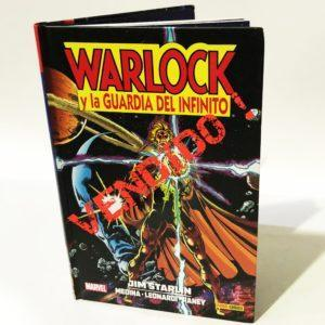 WARLOCK Y LA GUARDIA DEL INFINITO, COMIC MARVEL COMIC AMERICANO