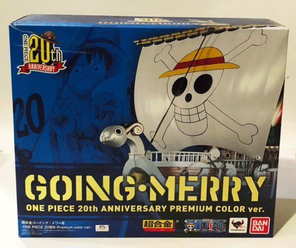 GOING MERRY 20TH ANNIVERSARY, METALLIC COLOR VERSION, ONE PIECE CHOGOKIN