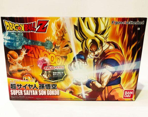 SON GOKU SUPER SAIYAN, DRAGON BALL Z FIGURE-RISE STANDARD MODEL KIT FIGURA 16 CM