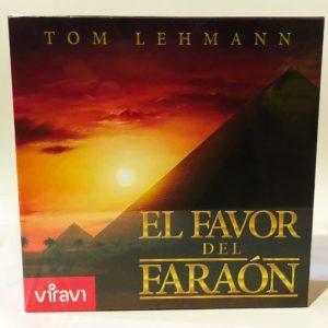 EL FAVOR DEL FARAON, JUEGO DE TABLERO, JUEGO DE MESA