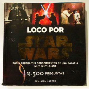 LOCO POR STAR WARS, LIBRO - JUEGO DE 2500 PREGUNTAS