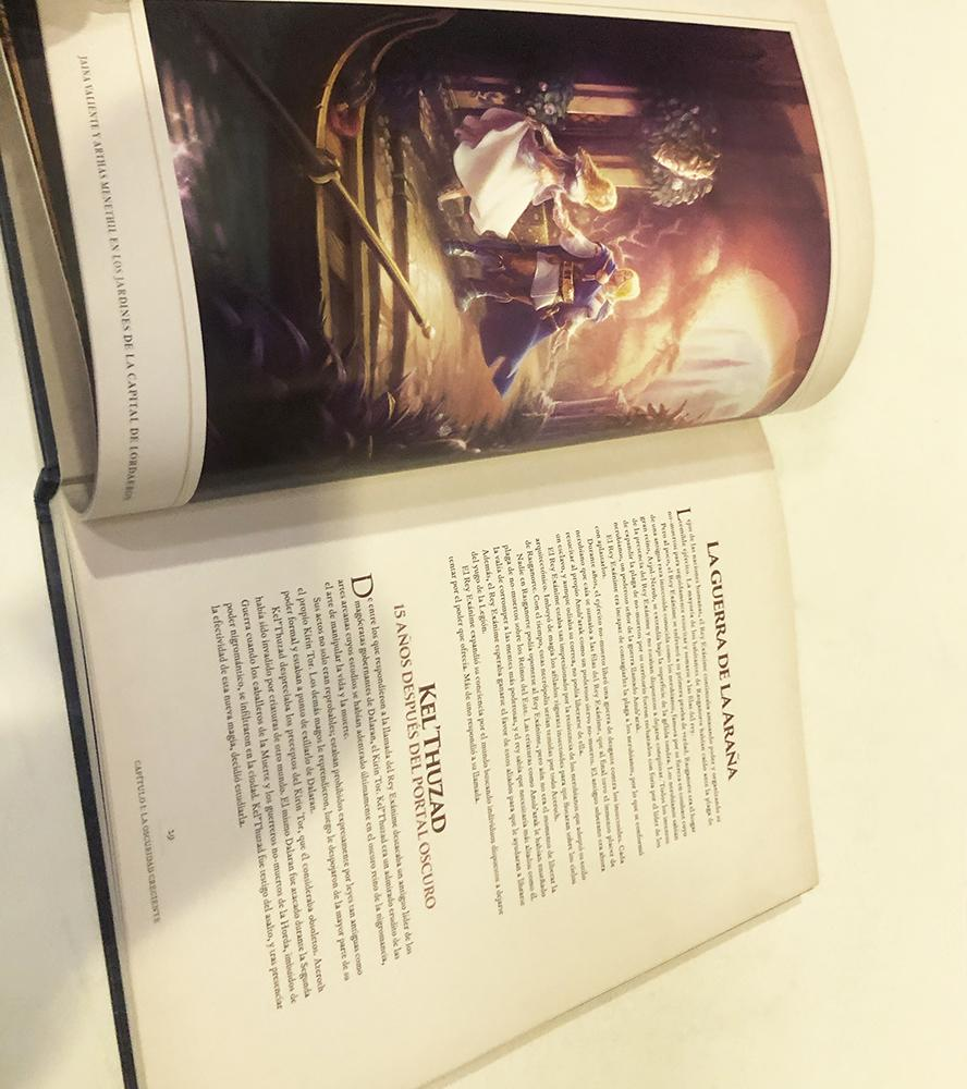 WORLD OF WARCRAFT. CRONICAS 03, LIBRO ILUSTRADO - OutletFriki